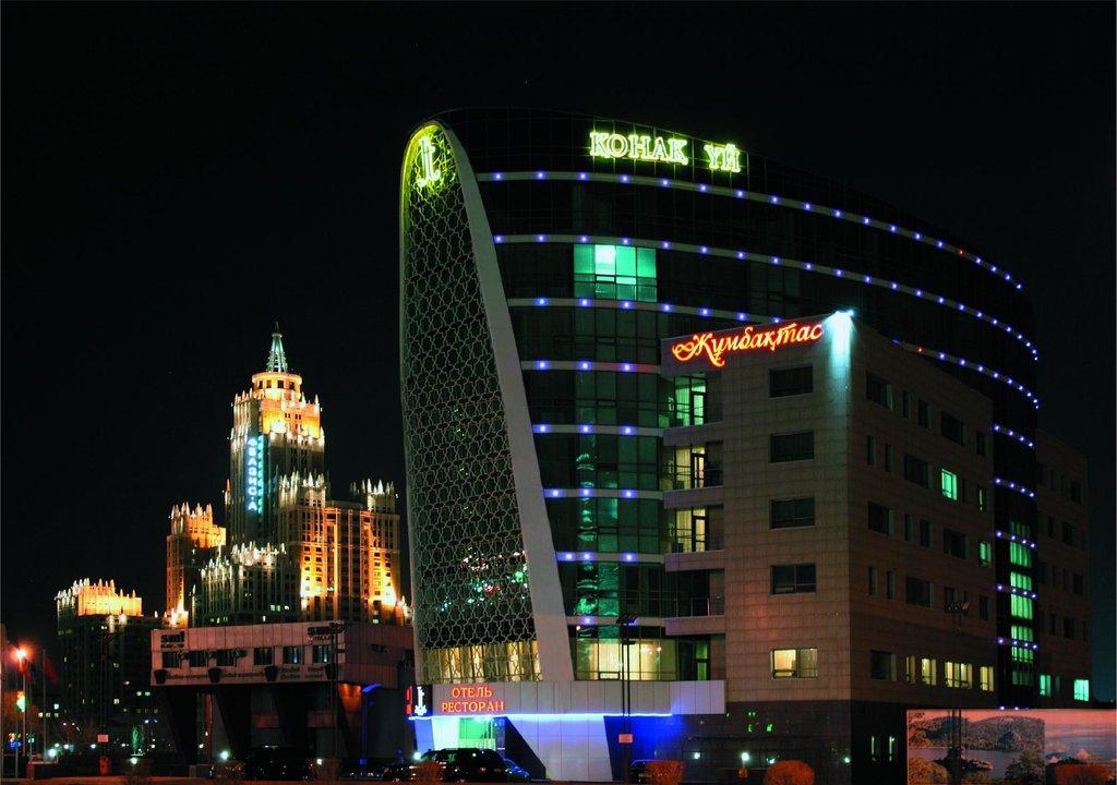 Отель Жумбактас