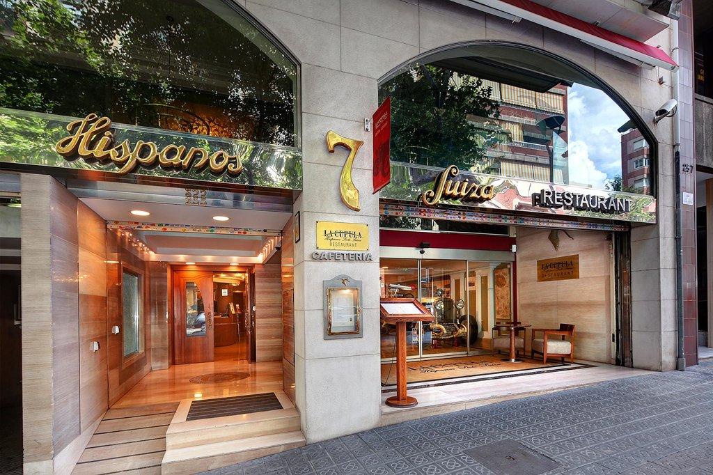 西班牙七瑞士餐廳與公寓