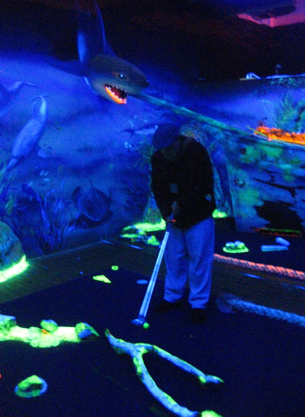 Glow Golf Docklands