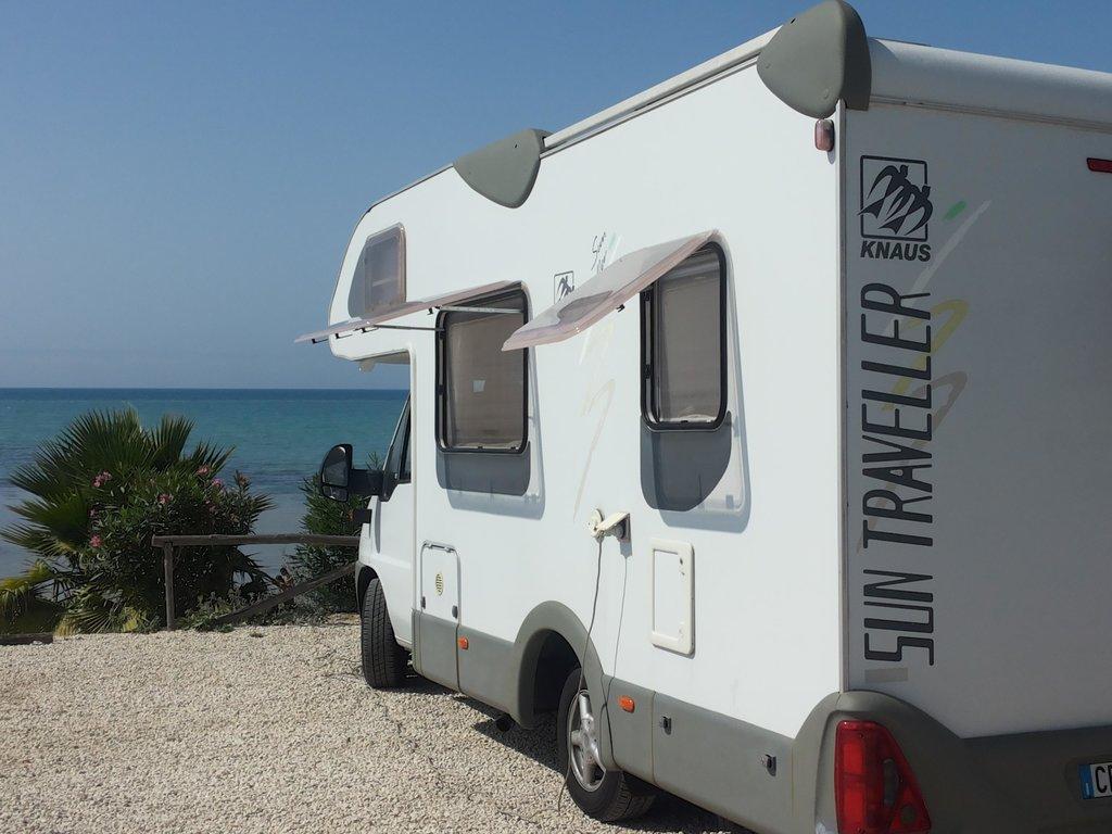 Area Sosta Camper Punta Piccola Park - Scala dei Turchi