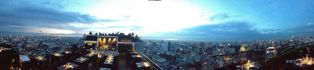 Vertigo Bar sunset view