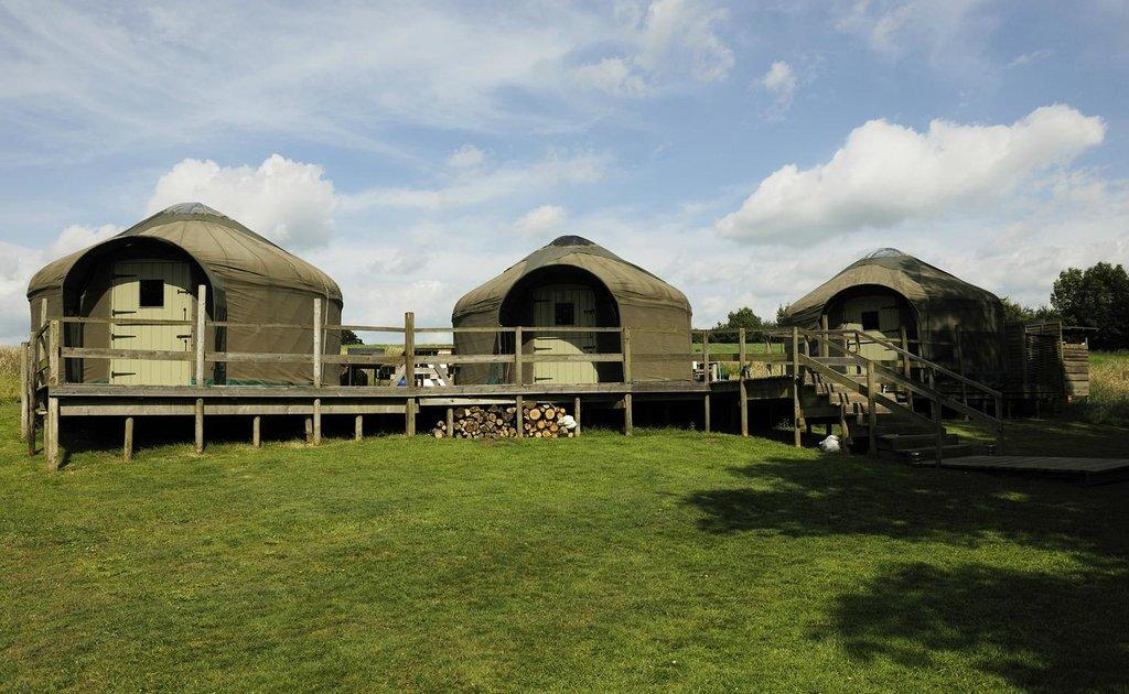 Stock Gaylard Yurts