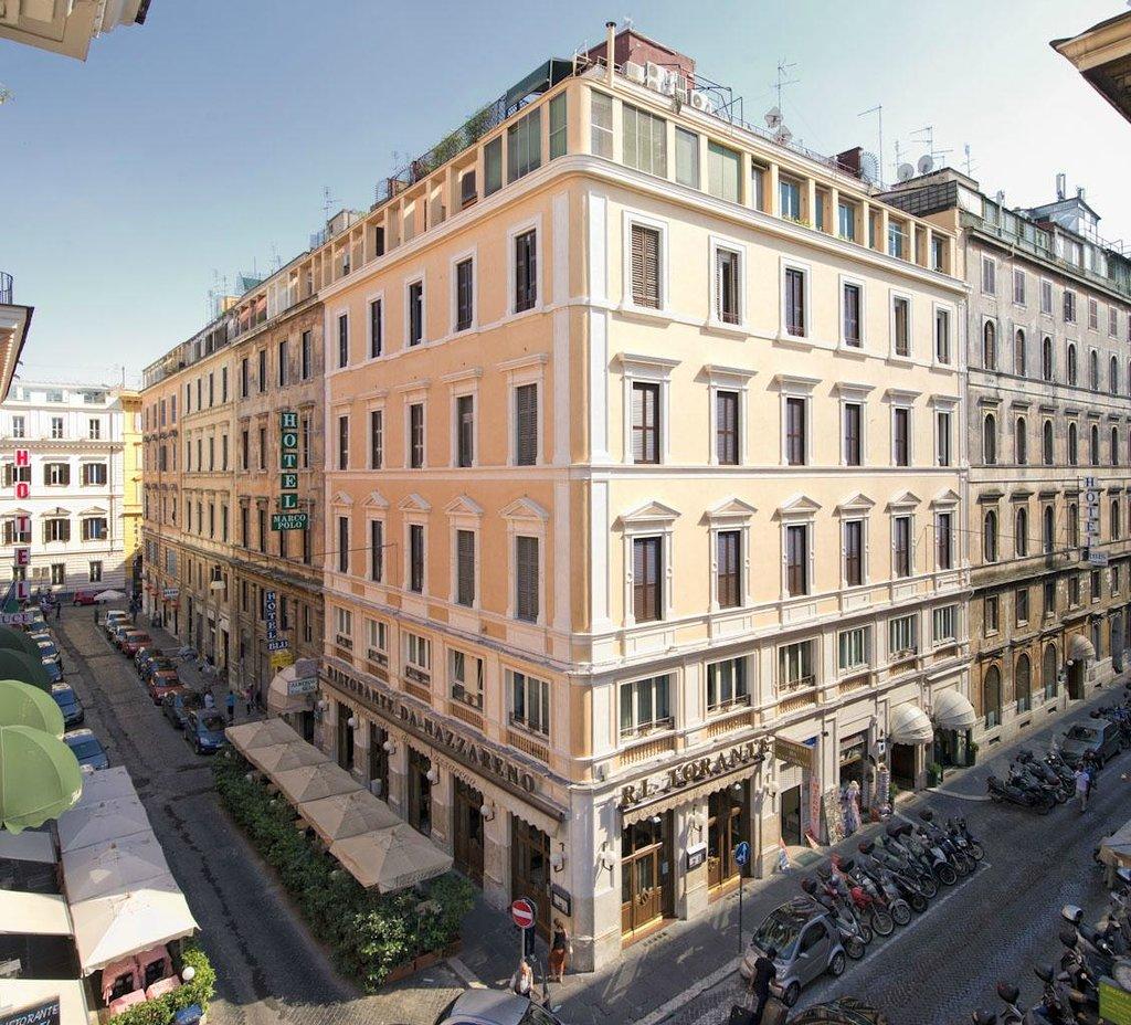 ホテル マルコ ポーロ ローマ