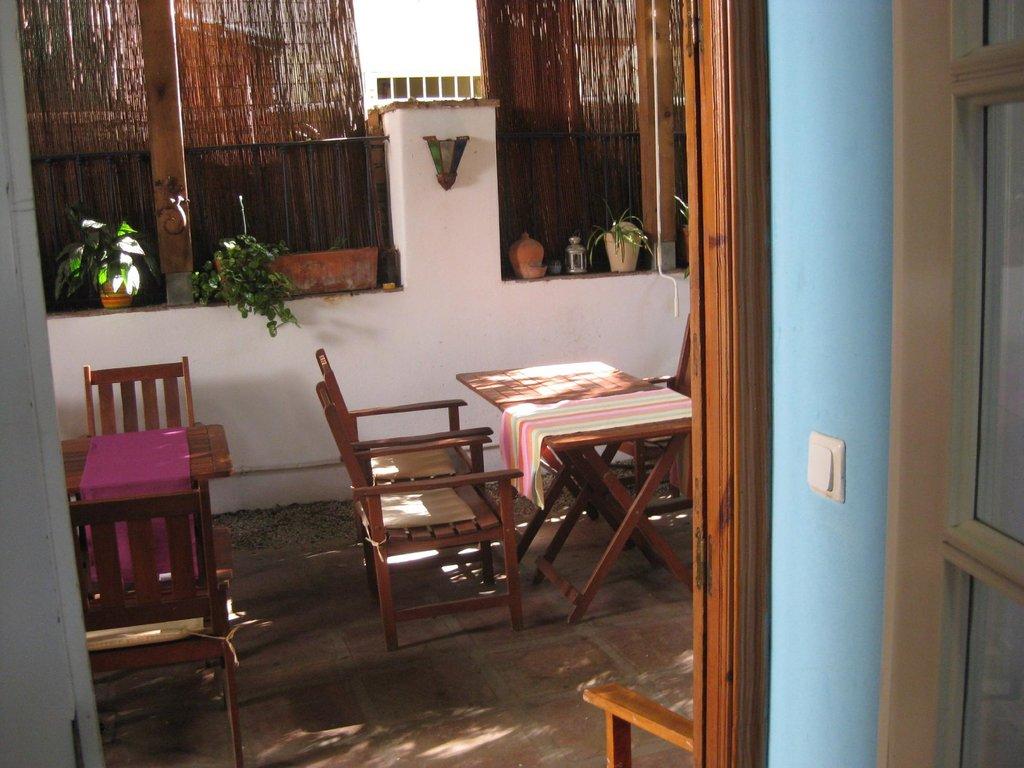 라스 아카시아스 호스텔 레스토랑 호텔