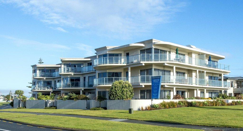 礁石海濱公寓飯店