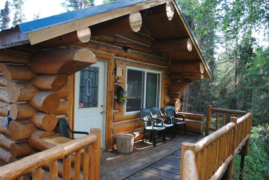 Fish Alaska Log Cabin Lodge
