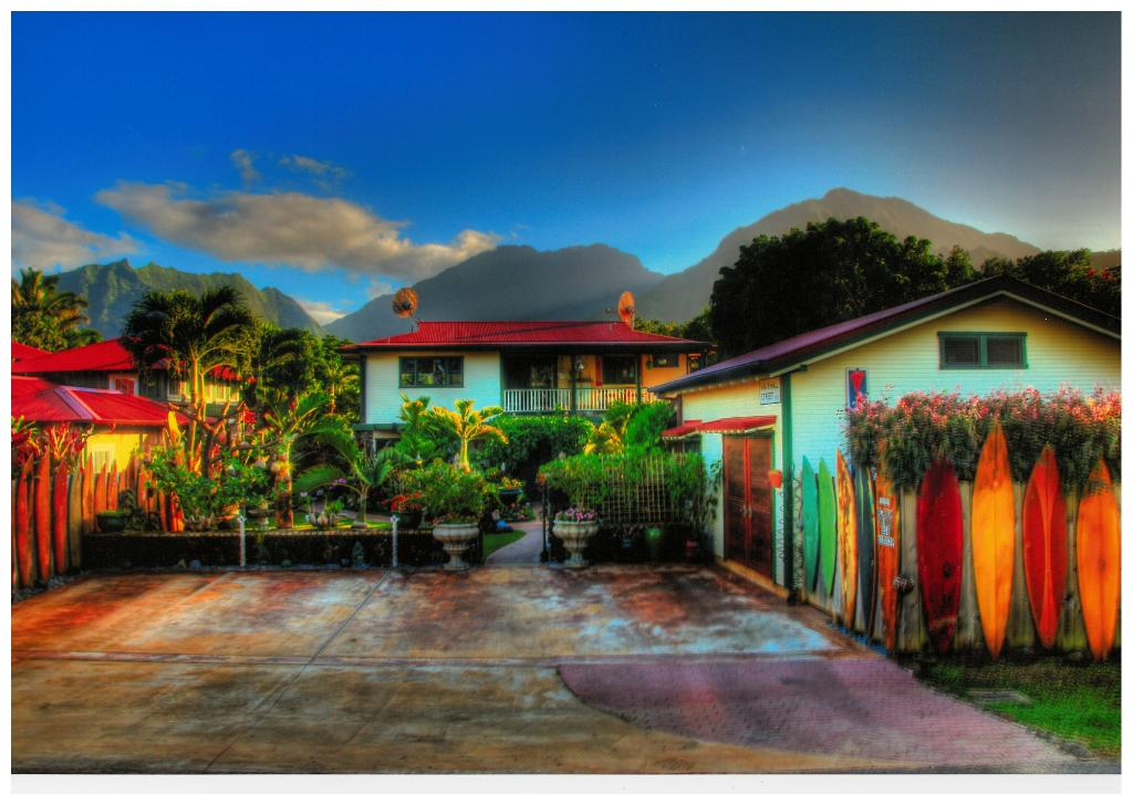 Hanalei Surfboard House