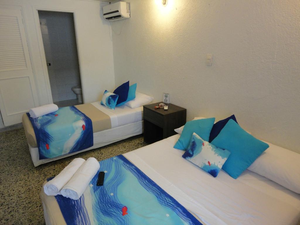 藍色珊瑚礁假日飯店