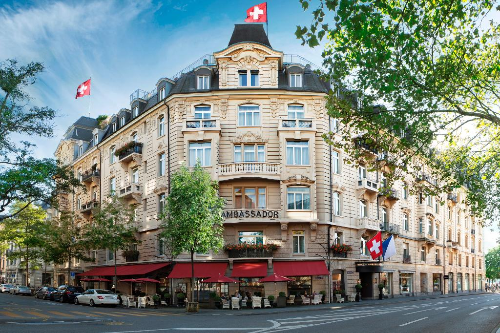 Ambassador à l'Opéra Small Luxury Hotel Zurich