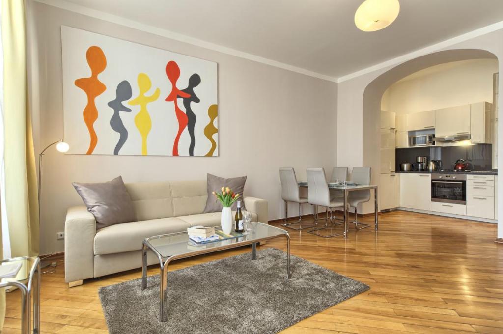 Prague City Apartments Residence Masna