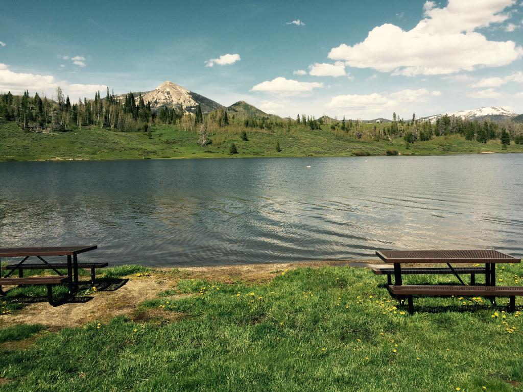 Steamboat Lake State Park Campsites