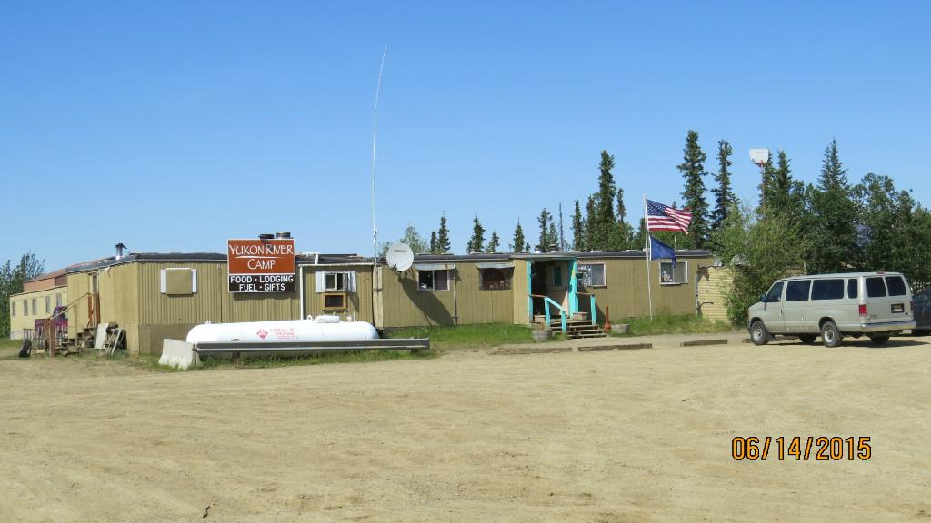 Yukon River Camp