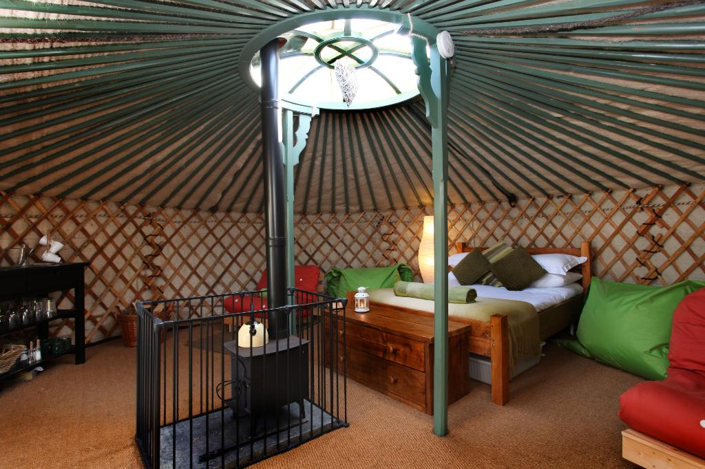 East Thorne-Cornwall Yurts and Cottages