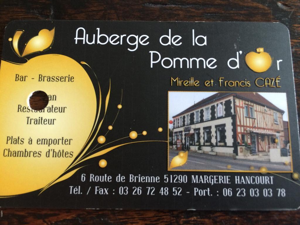 Auberge de la Pomme d'Or