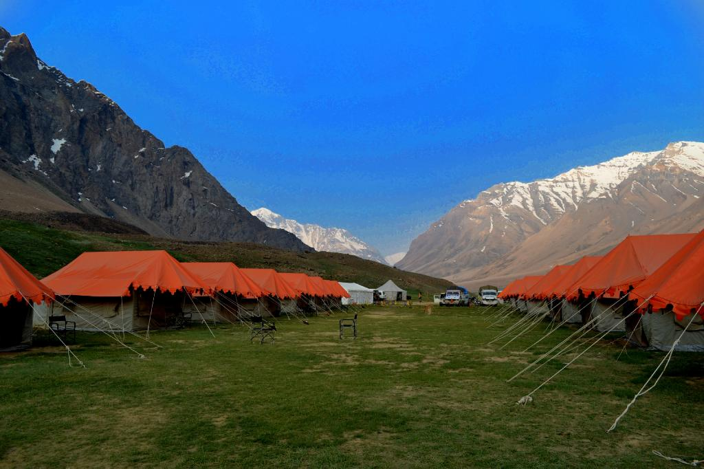 Goldrop Camps Sarchu and Sissu