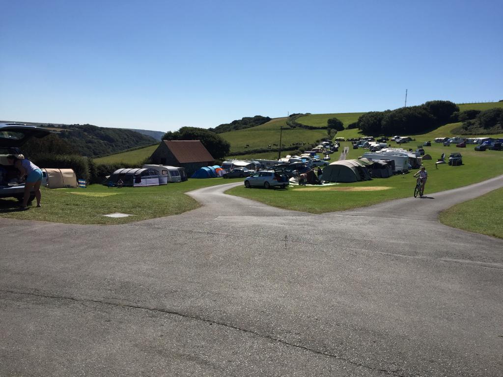 Higher Rew Caravan and Camping Park