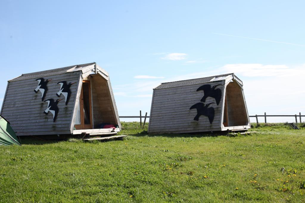 Wheems Organic Farm Orkney Bothies & Camping