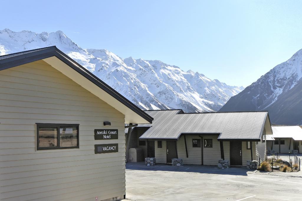 Aoraki Court Motel at Aoraki/Mt Cook Village