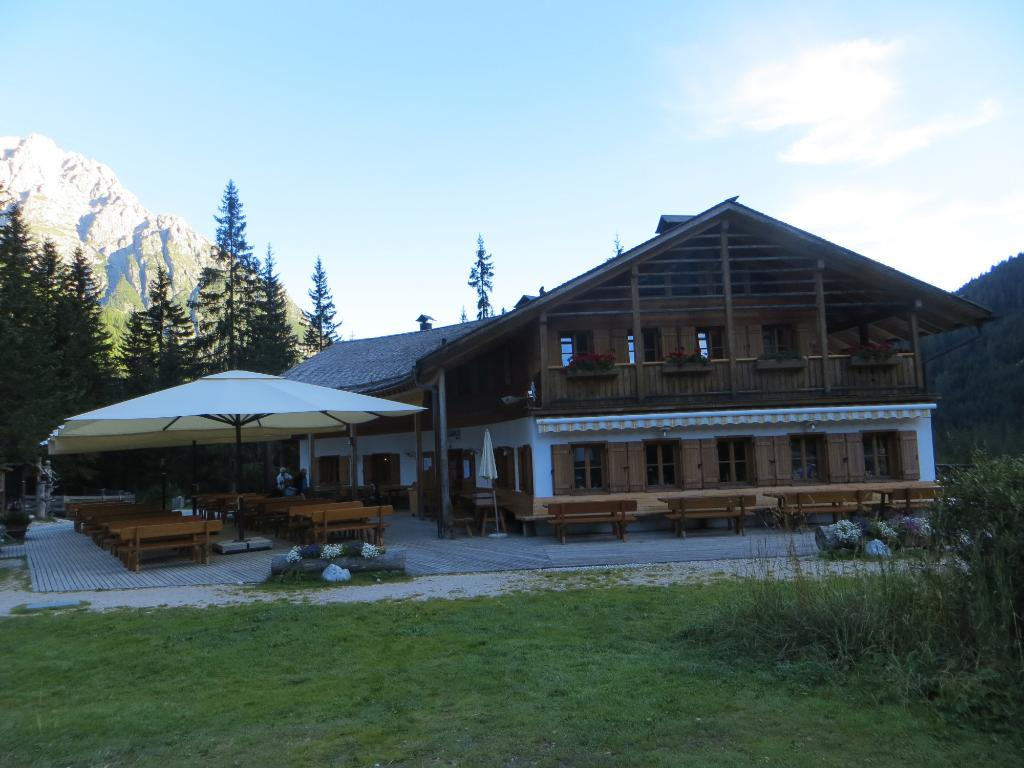 Rifugio Fondovalle/Talschlusshütte