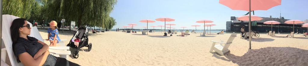 Sugar Beach e frontlake