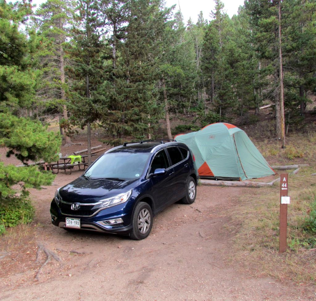 Estes Park Campground at East Portal