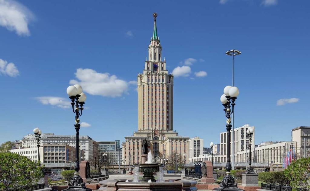 힐튼 모스크바 레닌그라드스카야