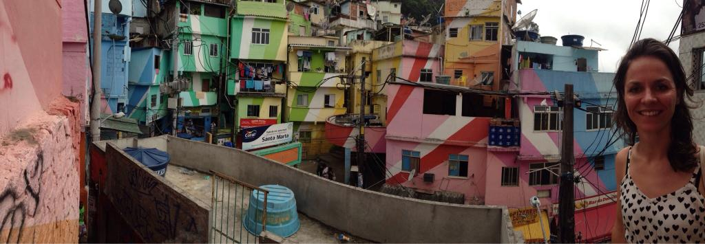 Favela Scene