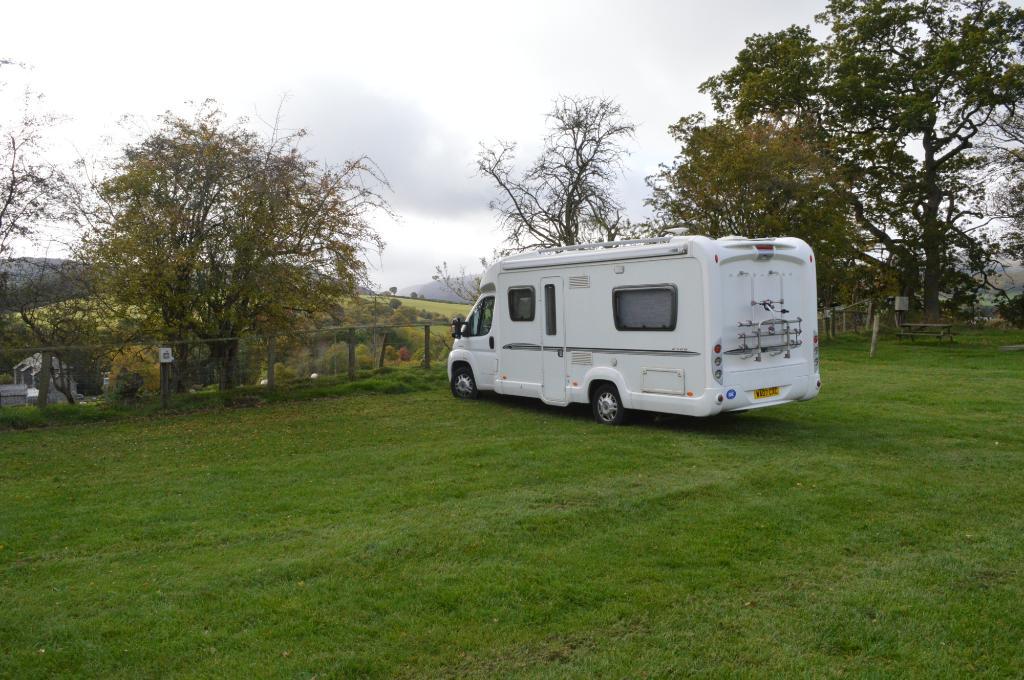 Camping at Gigrin Farm