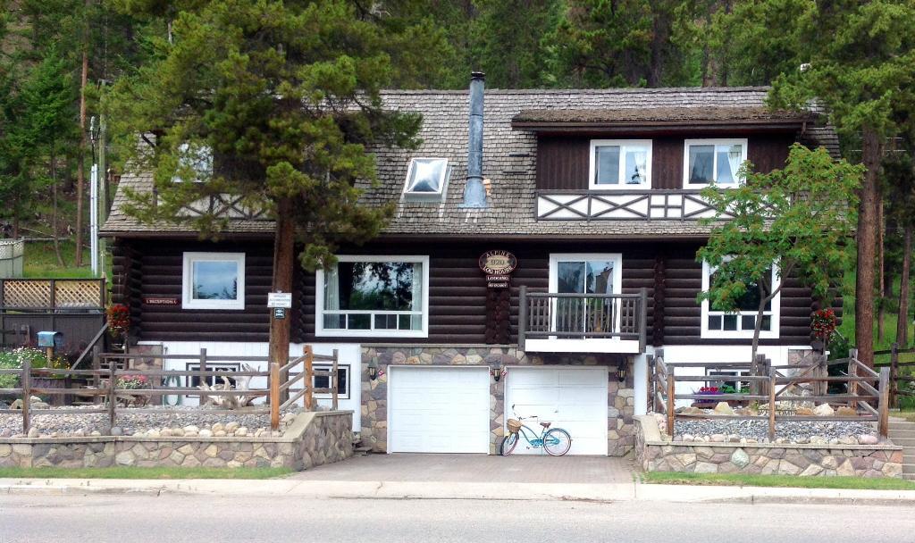 Alpine Log House