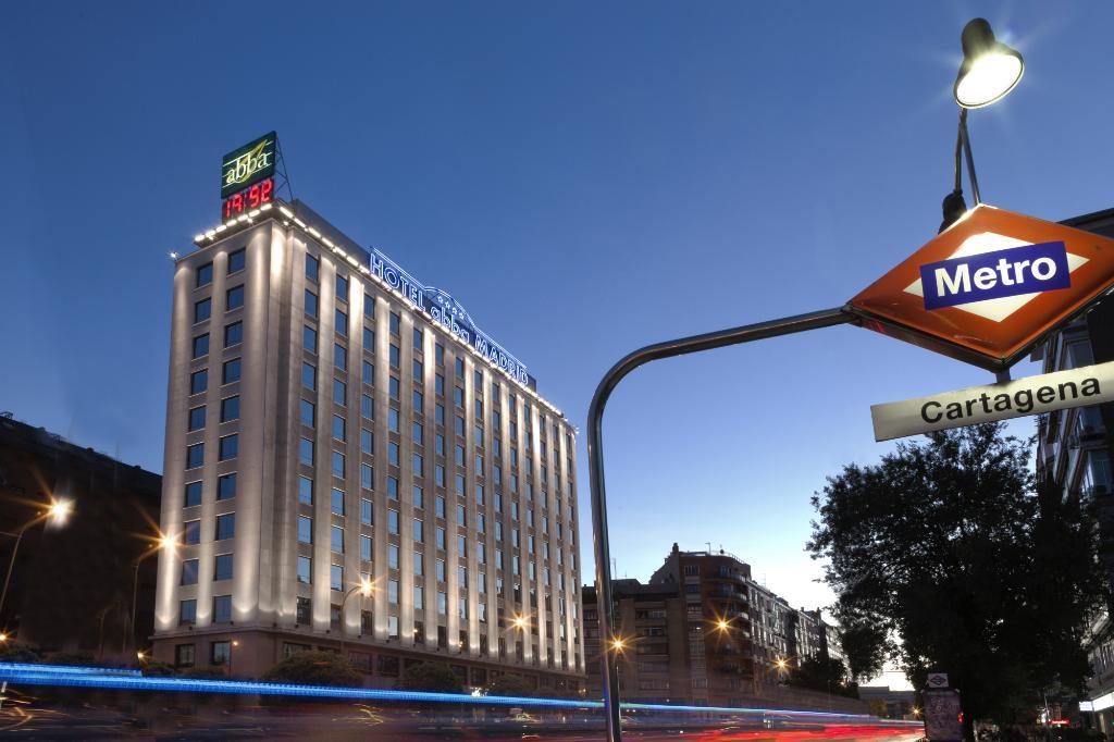 アバ マドリッド ホテル