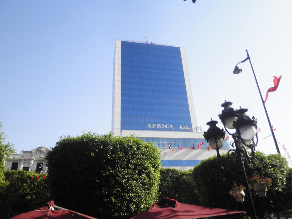 アフリカ ホテル チュニス