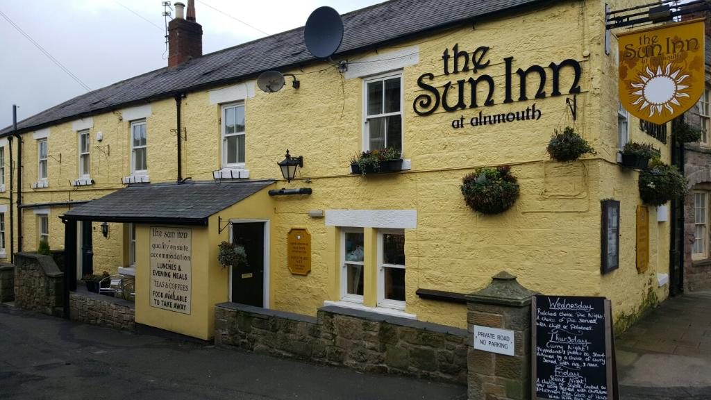 ‪The Sun Inn  Alnmouth  Northumberland‬