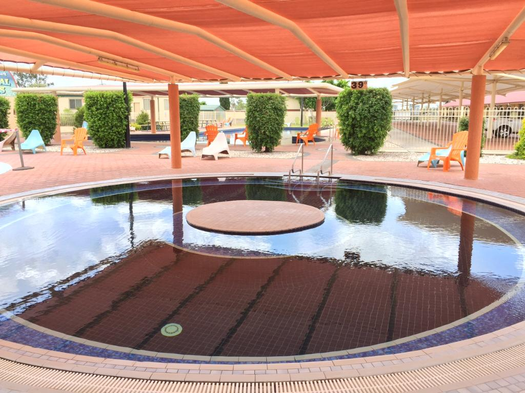 Gwydir Thermal Pools Carapark & Motel