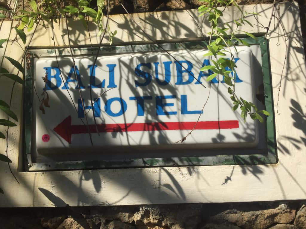โรงแรมบาหลีซูบัค