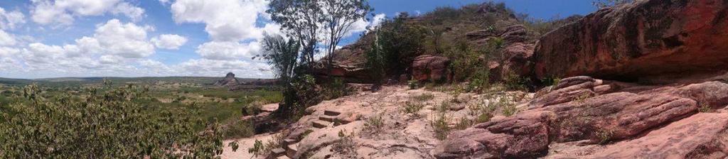 Vale do Catimbau - panorâmica