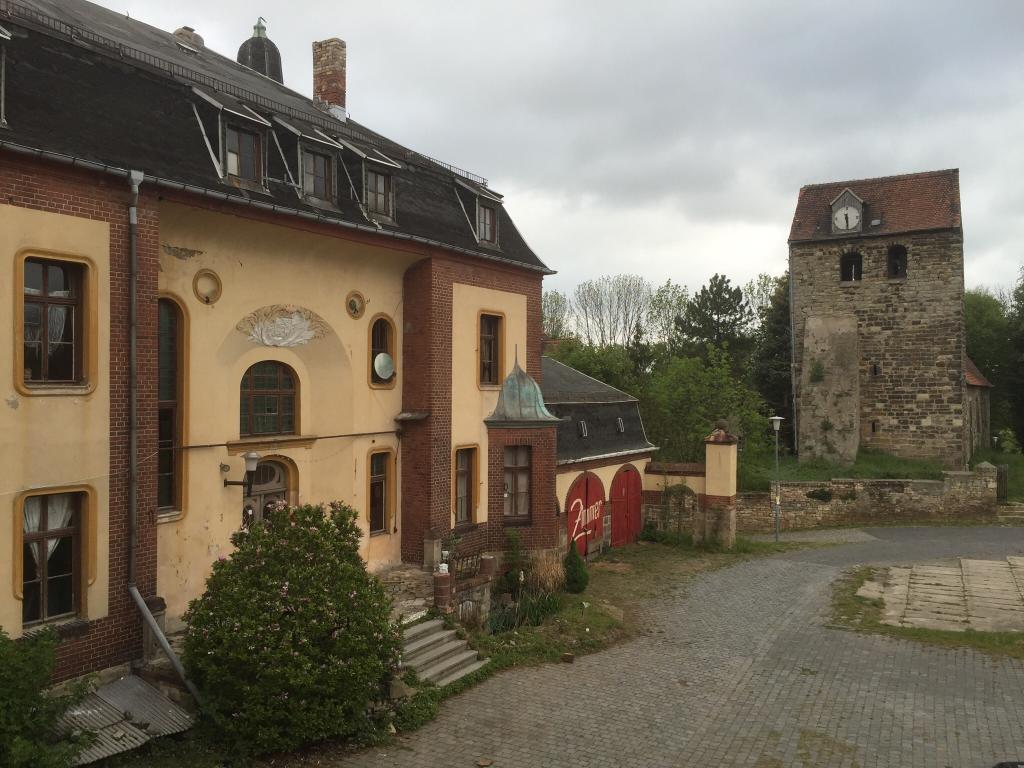 Pferdehotel Gutshaus Volkmaritz