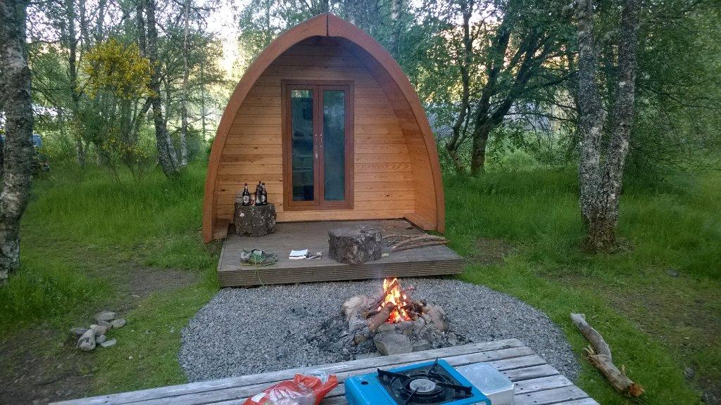 Cannich Caravan & Camping Park