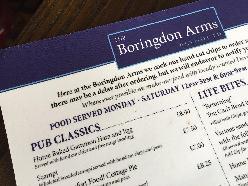 Boringdon Arms