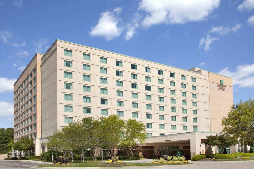 美國羅利特勒姆三角研究園大使館飯店