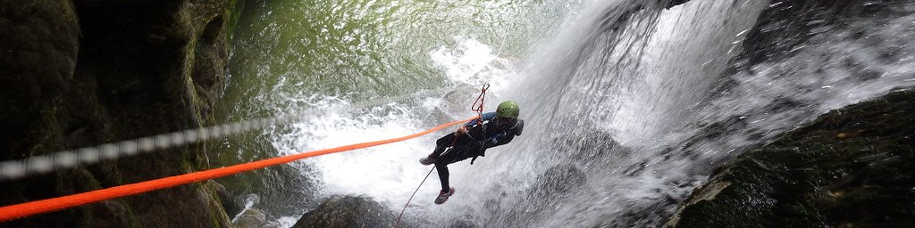 Vercors Canyoning