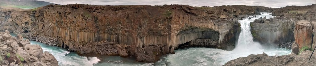 Aldeyjarfoss canyon