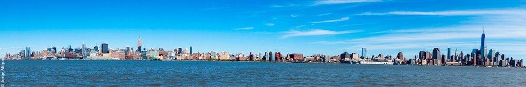 Impresionante vista de Manhattan