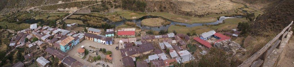 Vista Panoramica desde el Mirador de VIlca
