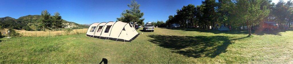 Leuke basic camping op een mooie plek