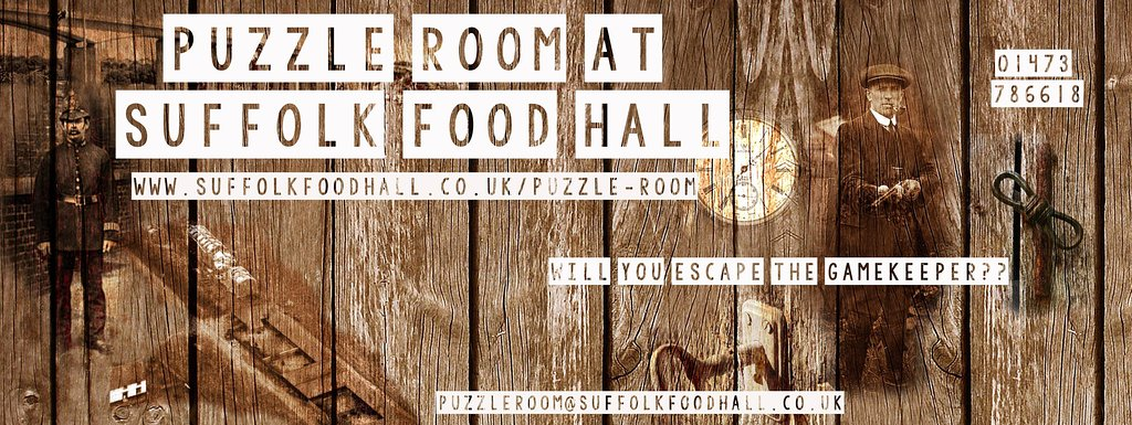 Puzzle Room at Suffolk Food Hall