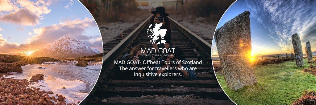 MAD GOAT Offbeat Tours of Scotland