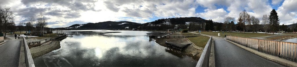Nordic Walkingrunde um den See