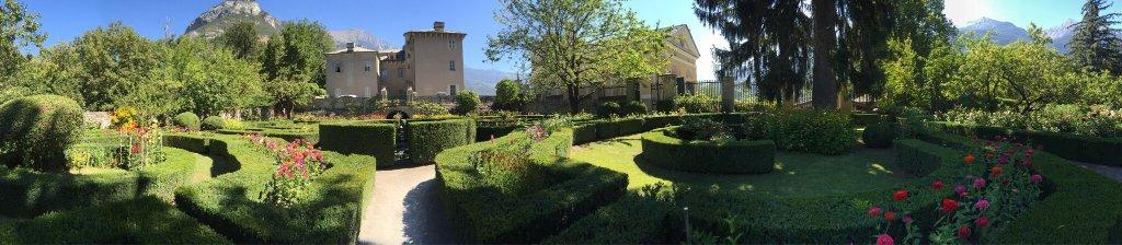 Parc du Chateau de Passerin d'Entreves