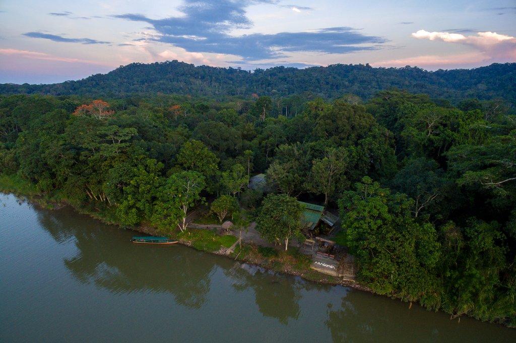 厄瓜多安娜卡達山林小屋