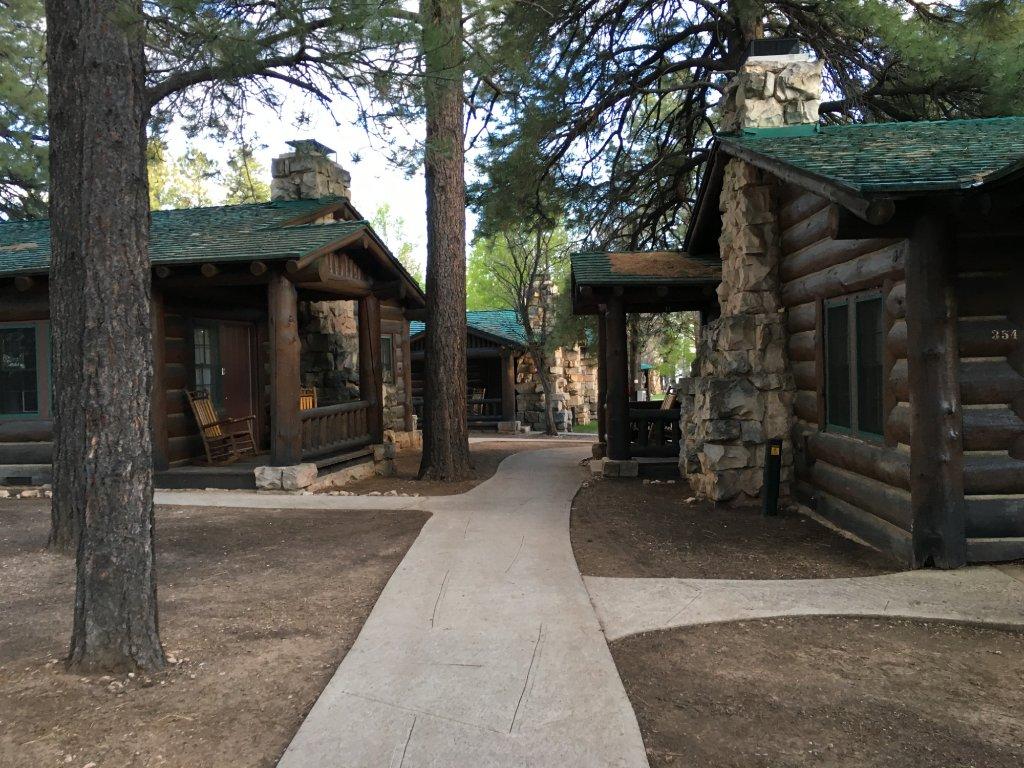 大峽谷北緣木屋